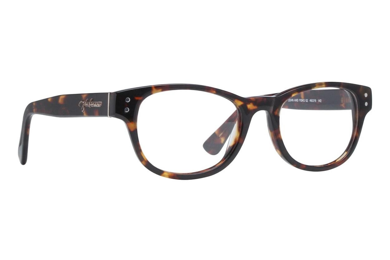 John Lennon John & Yoko Tortoise Eyeglasses