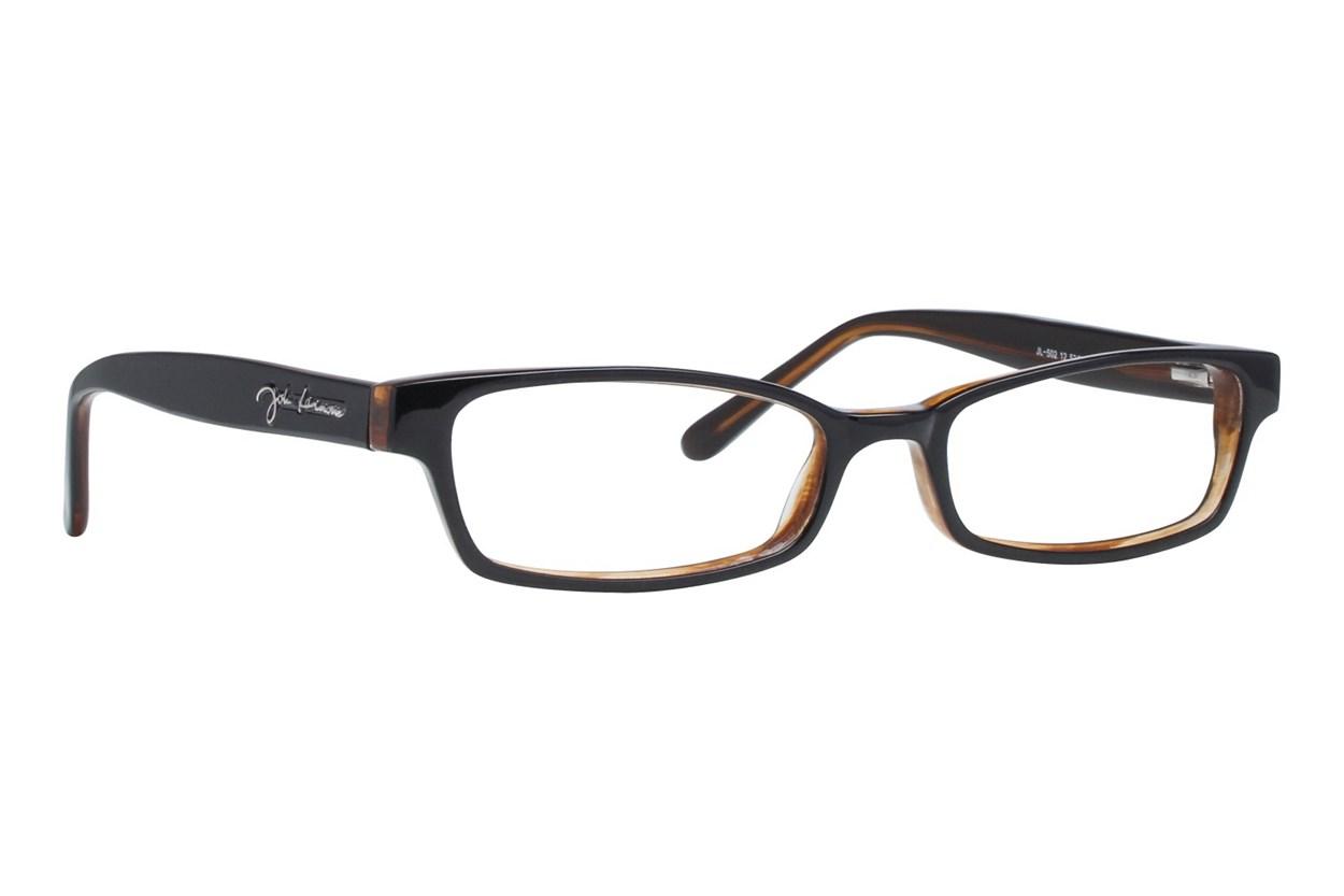 John Lennon JL 502 Black Eyeglasses