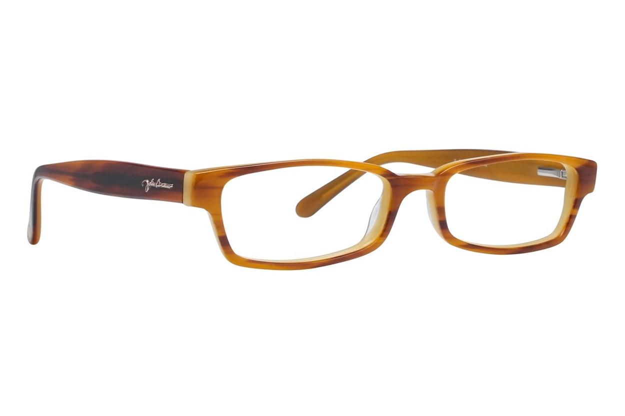 John Lennon JL 502 Brown Eyeglasses