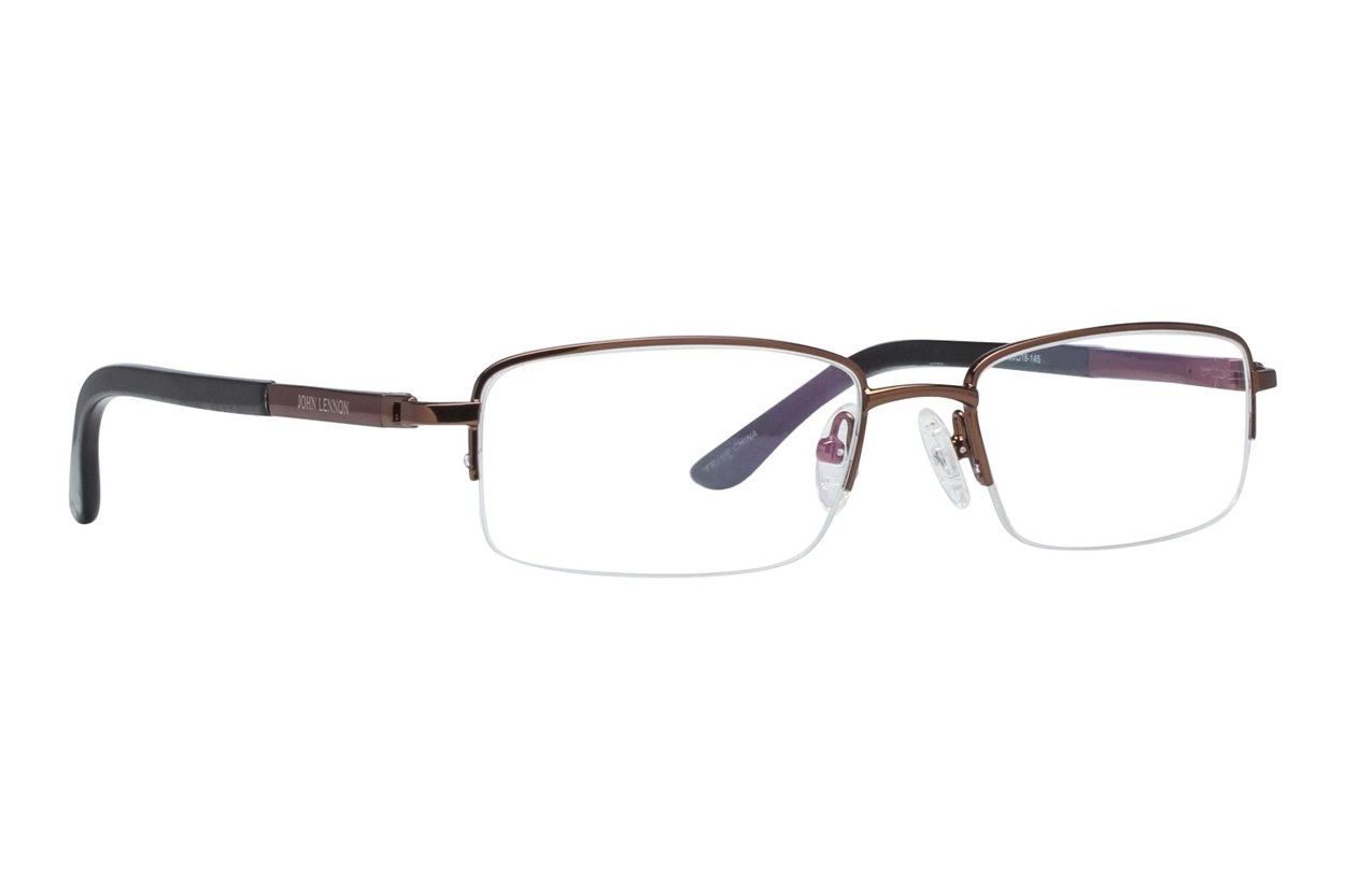 John Lennon Lifestyles 506 Brown Eyeglasses
