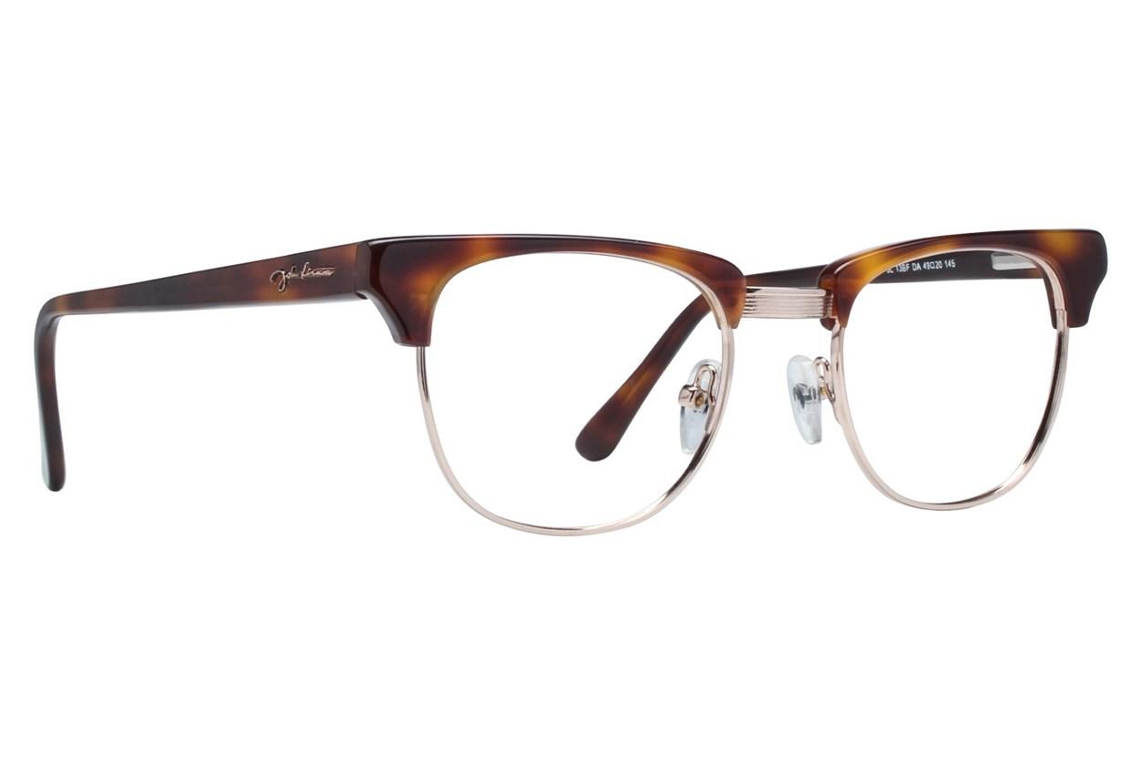 John Lennon JL 13 Brown Eyeglasses