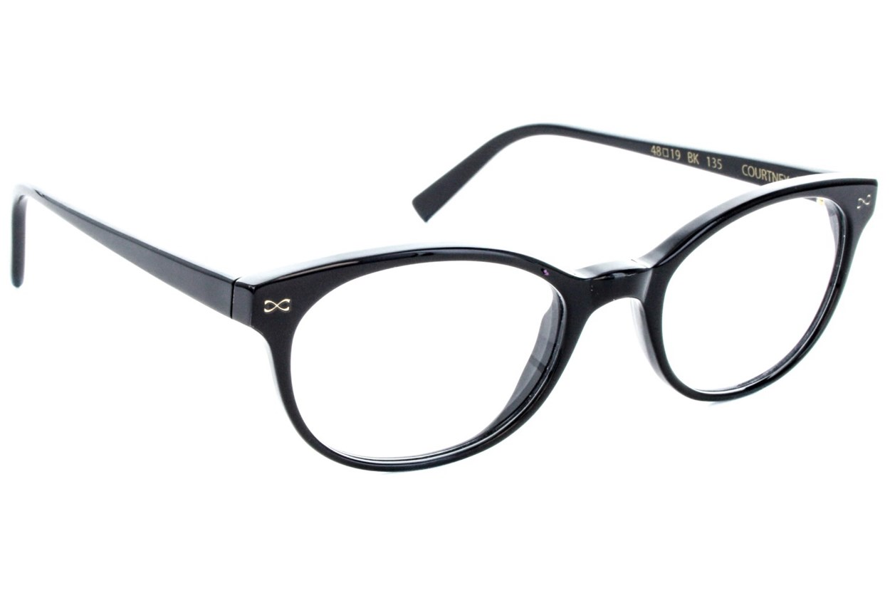 Velvet Eyewear Courtney Eyeglasses - Black