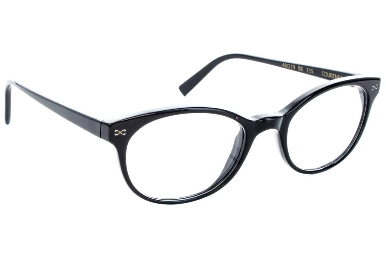 Velvet Eyewear Courtney Black Eyeglasses