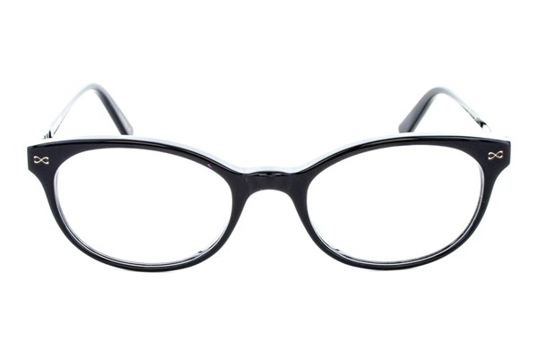 Velvet Eyewear Courtney Black Eyeglasses