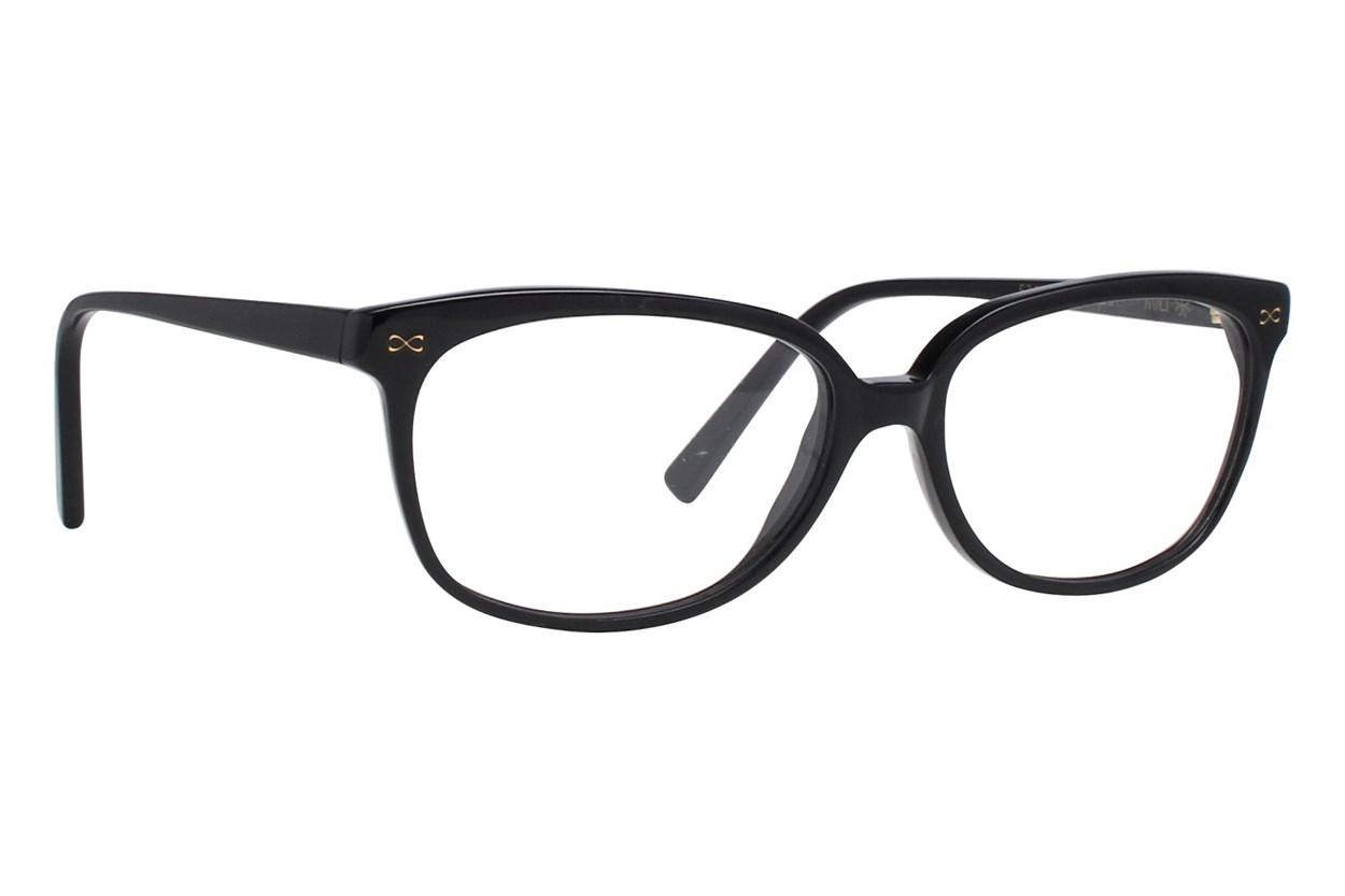 Velvet Eyewear Mili Black Eyeglasses