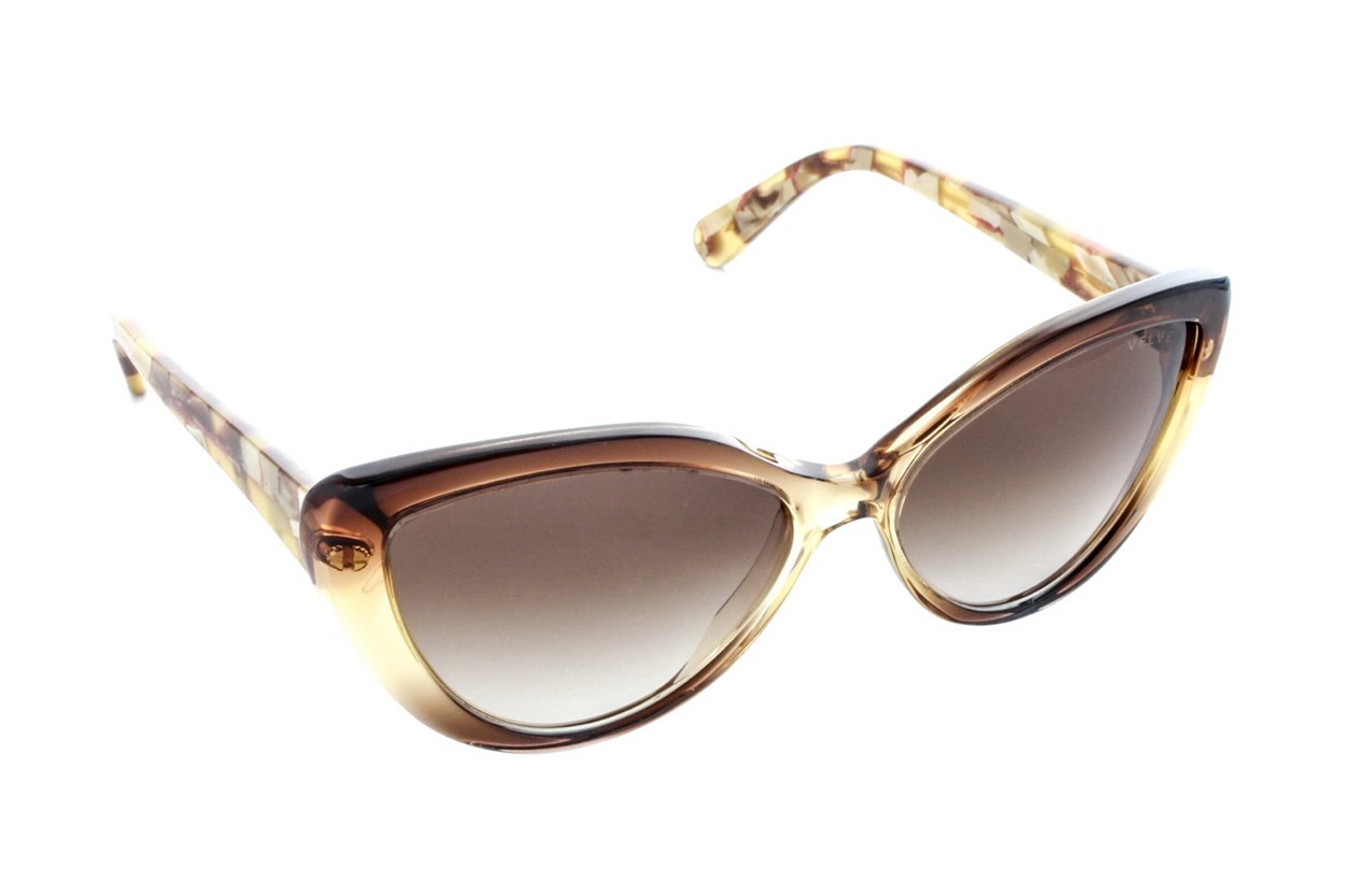 Velvet Eyewear Joie Gold Sunglasses