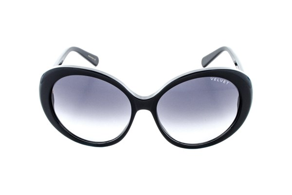 Velvet Eyewear Janis Black Sunglasses