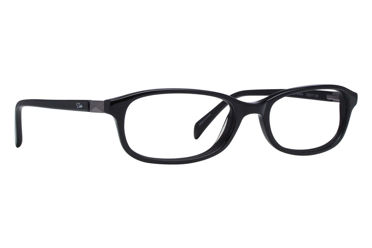 Dea Extended Size Basia Black Eyeglasses