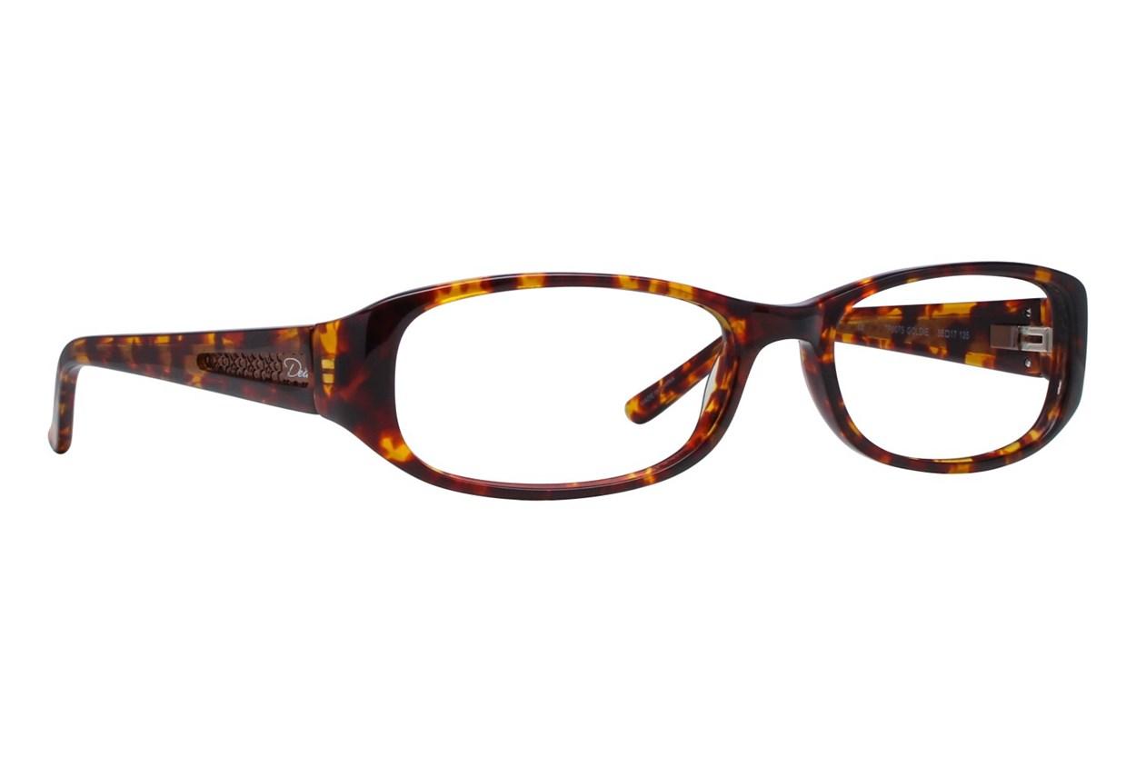Dea Extended Size Goldie Tortoise Eyeglasses