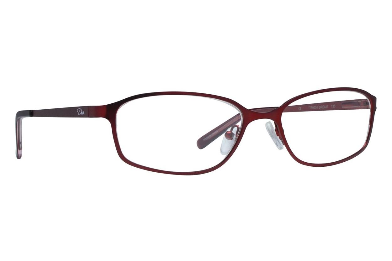 Dea Extended Size Dream Brown Eyeglasses