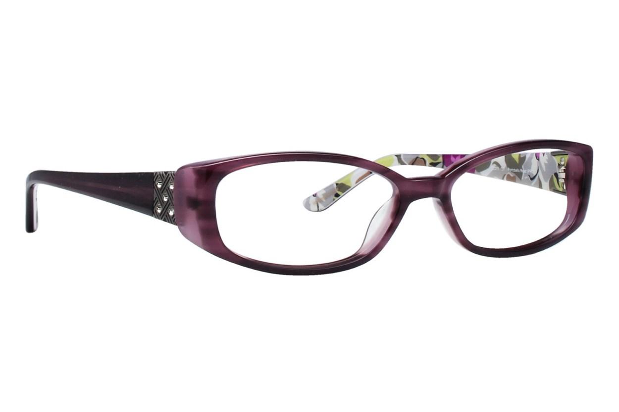 Vera Bradley VB Alyssa Purple Eyeglasses