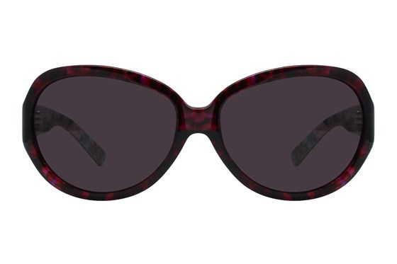 Vera Bradley VB Carol Purple Sunglasses