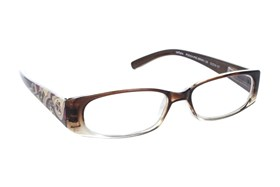 Paws n Claws Poochie Reading Glasses Brown