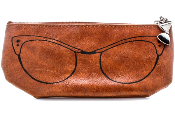 Corinne McCormack Cognac Cat Eye Soft Case 50 - Brown