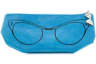 Corinne McCormack Teal Cat Eye Soft Case Turquoise