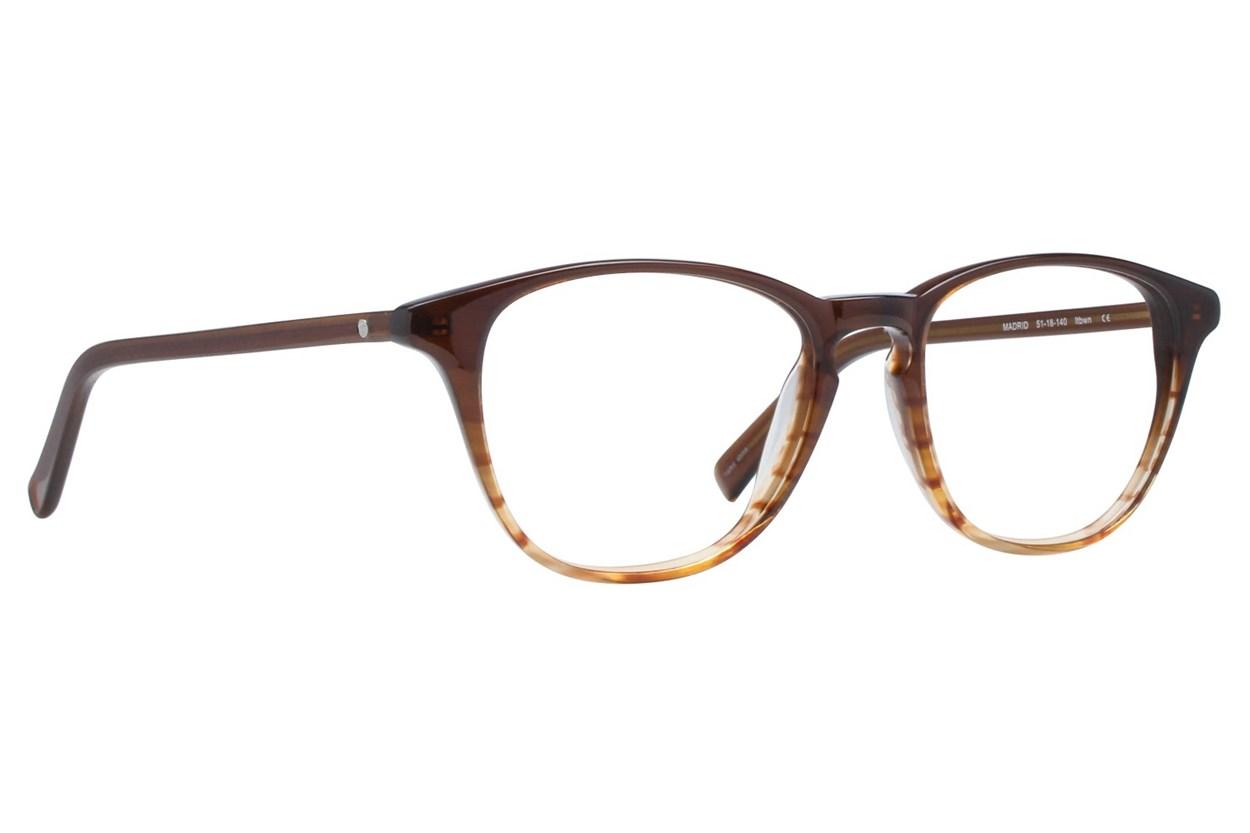 Eco Madrid Brown Eyeglasses