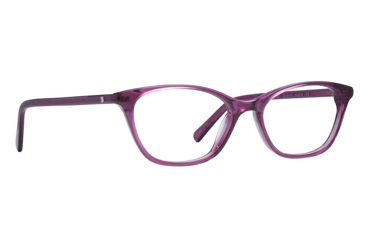 Eco New York Purple Eyeglasses