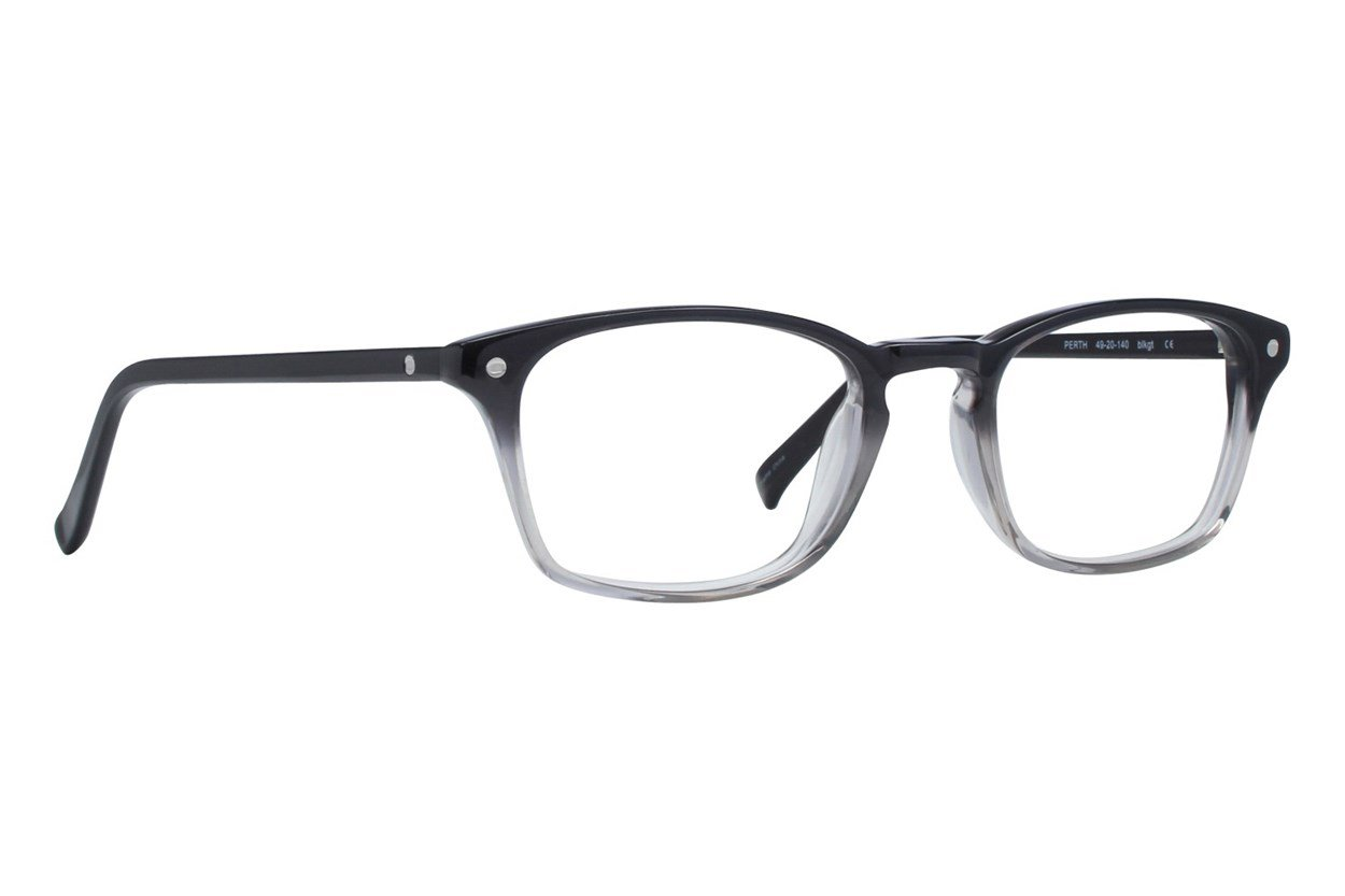 Eco Perth Black Eyeglasses