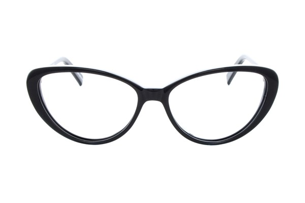 Eco Riga Eyeglasses - Black
