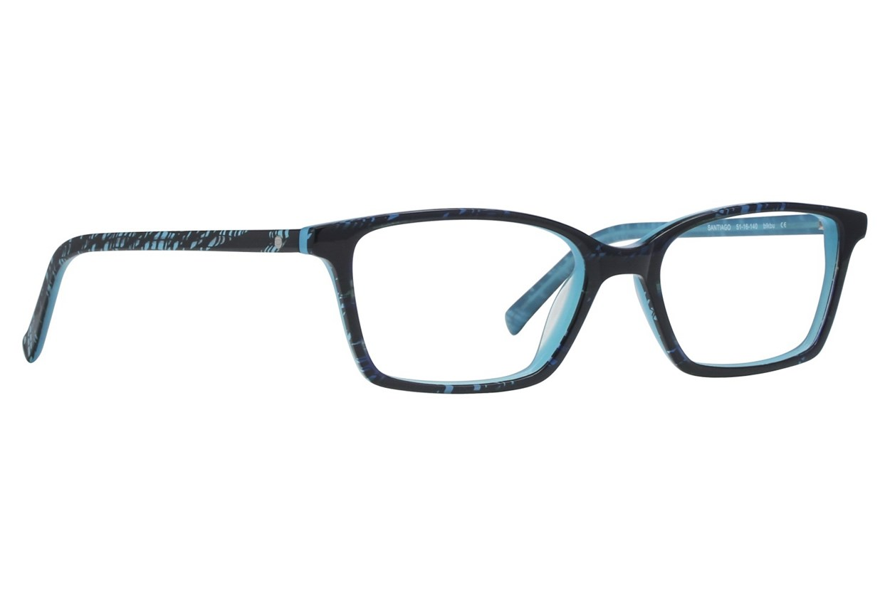 Eco Santiago Black Eyeglasses