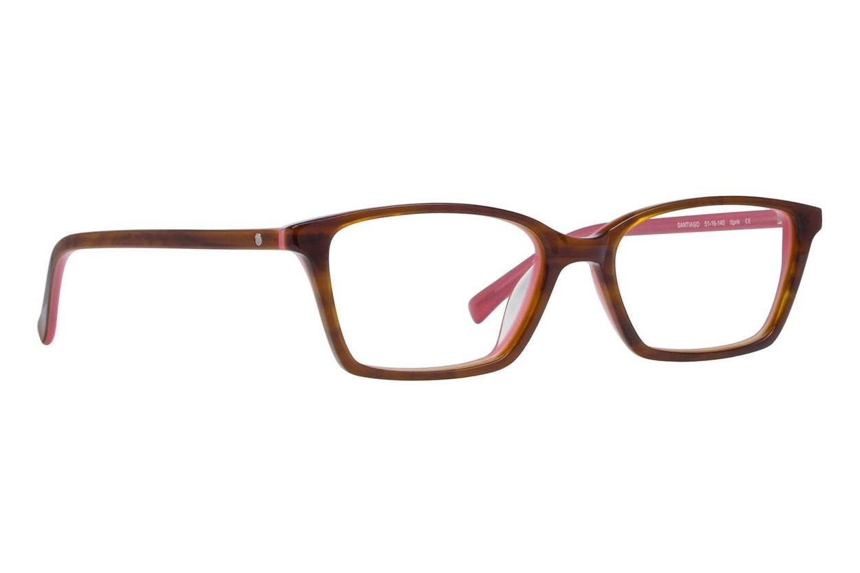 Eco Santiago Pink Eyeglasses