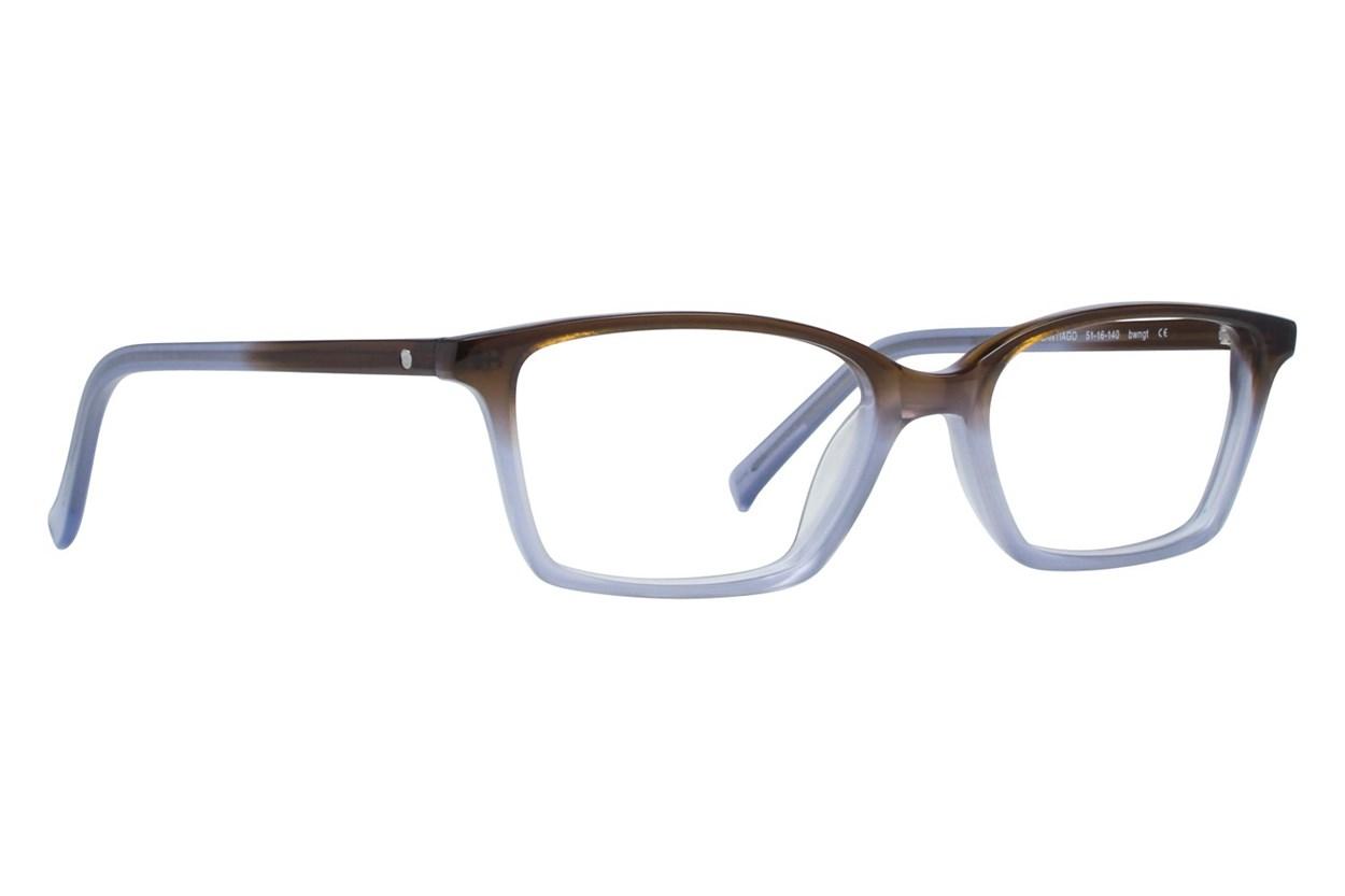 Eco Santiago Brown Eyeglasses