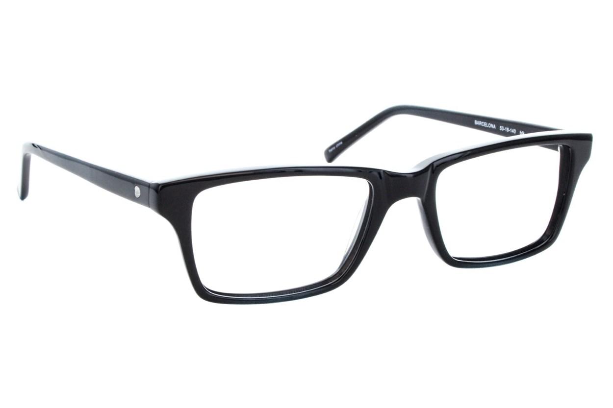 Eco Barcelona Black Eyeglasses