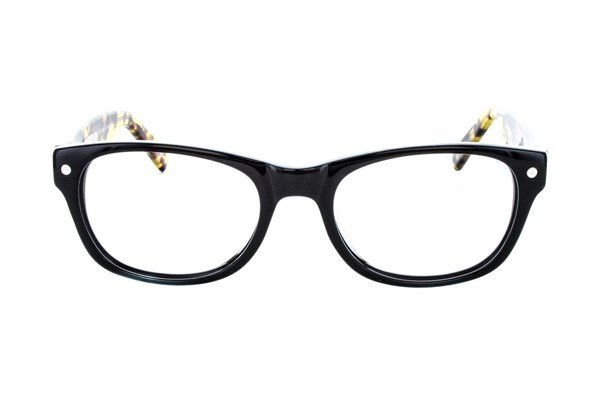 Eco Hong Kong Eyeglasses - Black