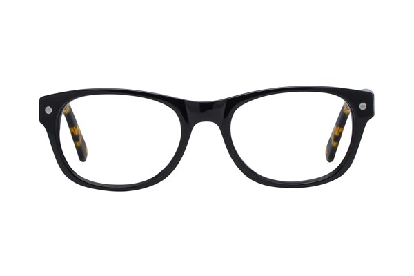 Eco Hong Kong Black Eyeglasses