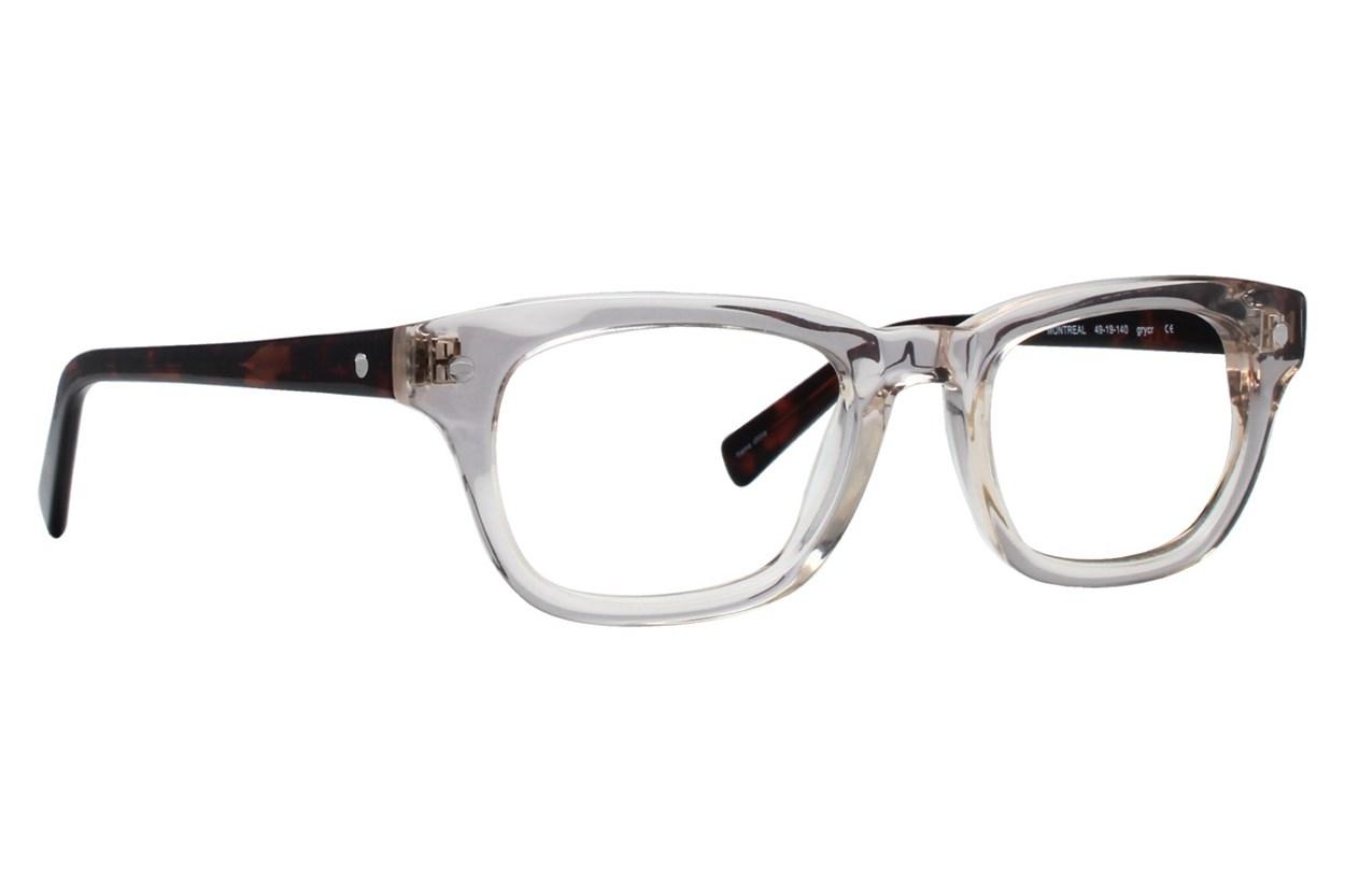 Eco Montreal Gray Eyeglasses