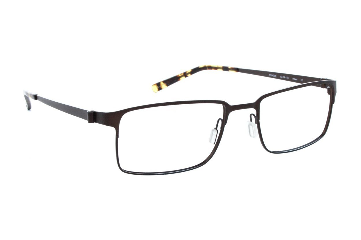 Eco Prague Eyeglasses - Brown
