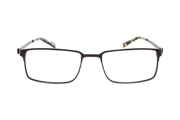 Eco Prague Brown Eyeglasses