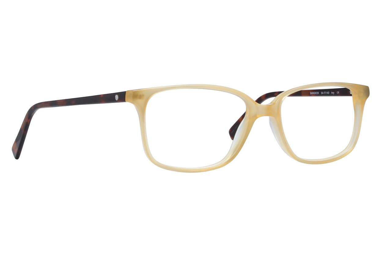 Eco Bangkok Brown Eyeglasses