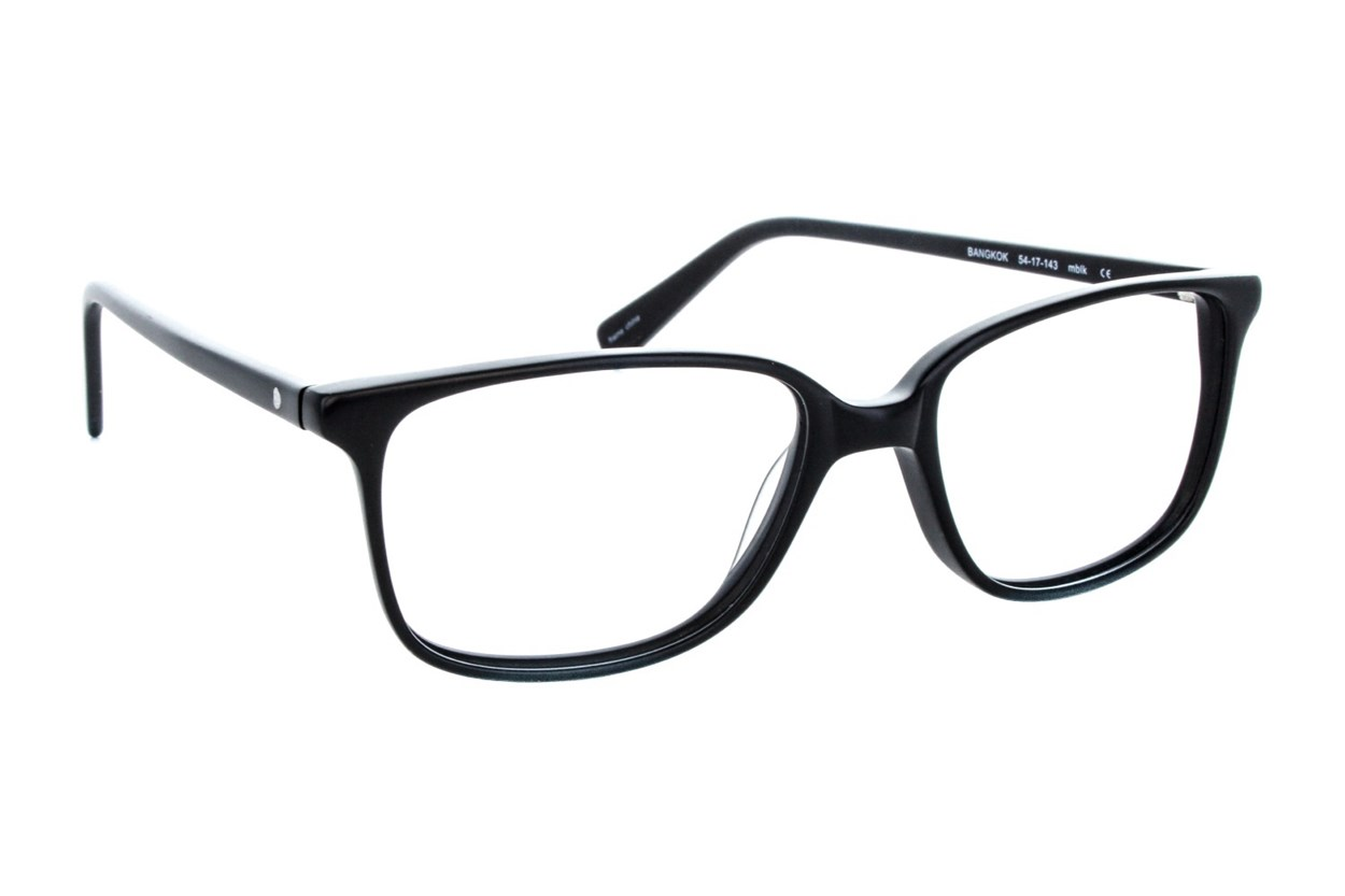 Eco Bangkok Eyeglasses - Black