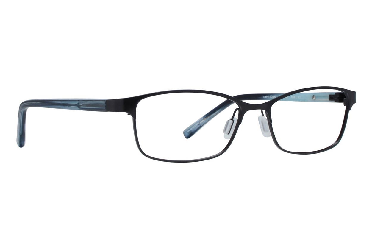 Eco Cape Town Eyeglasses - Black