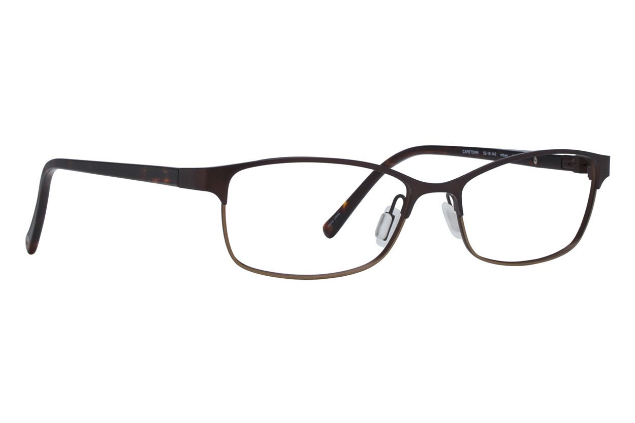 Eco Cape Town Eyeglasses - Brown