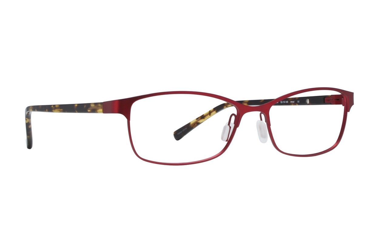 Eco Cape Town Red Eyeglasses