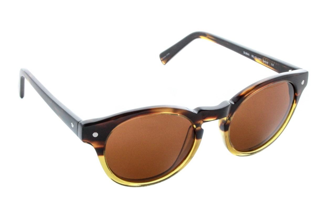 Eco Dubai Brown Sunglasses