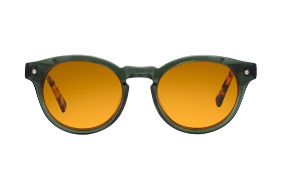 Eco Dubai Green Sunglasses