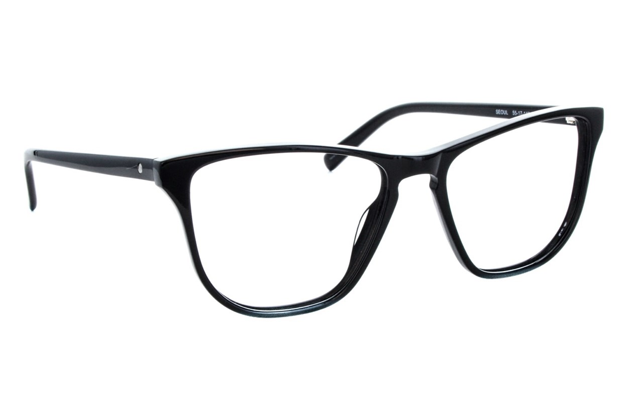 Eco Seoul Eyeglasses - Black