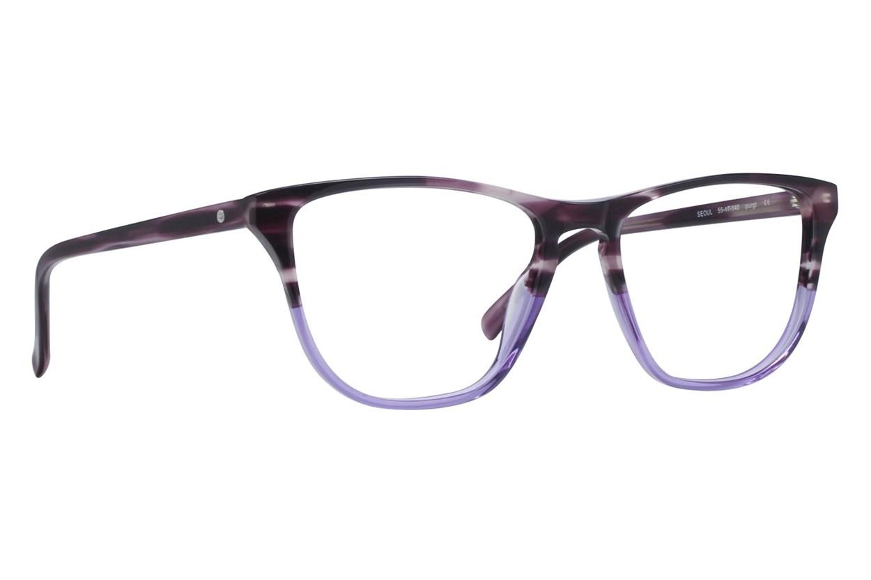 Eco Seoul Purple Eyeglasses