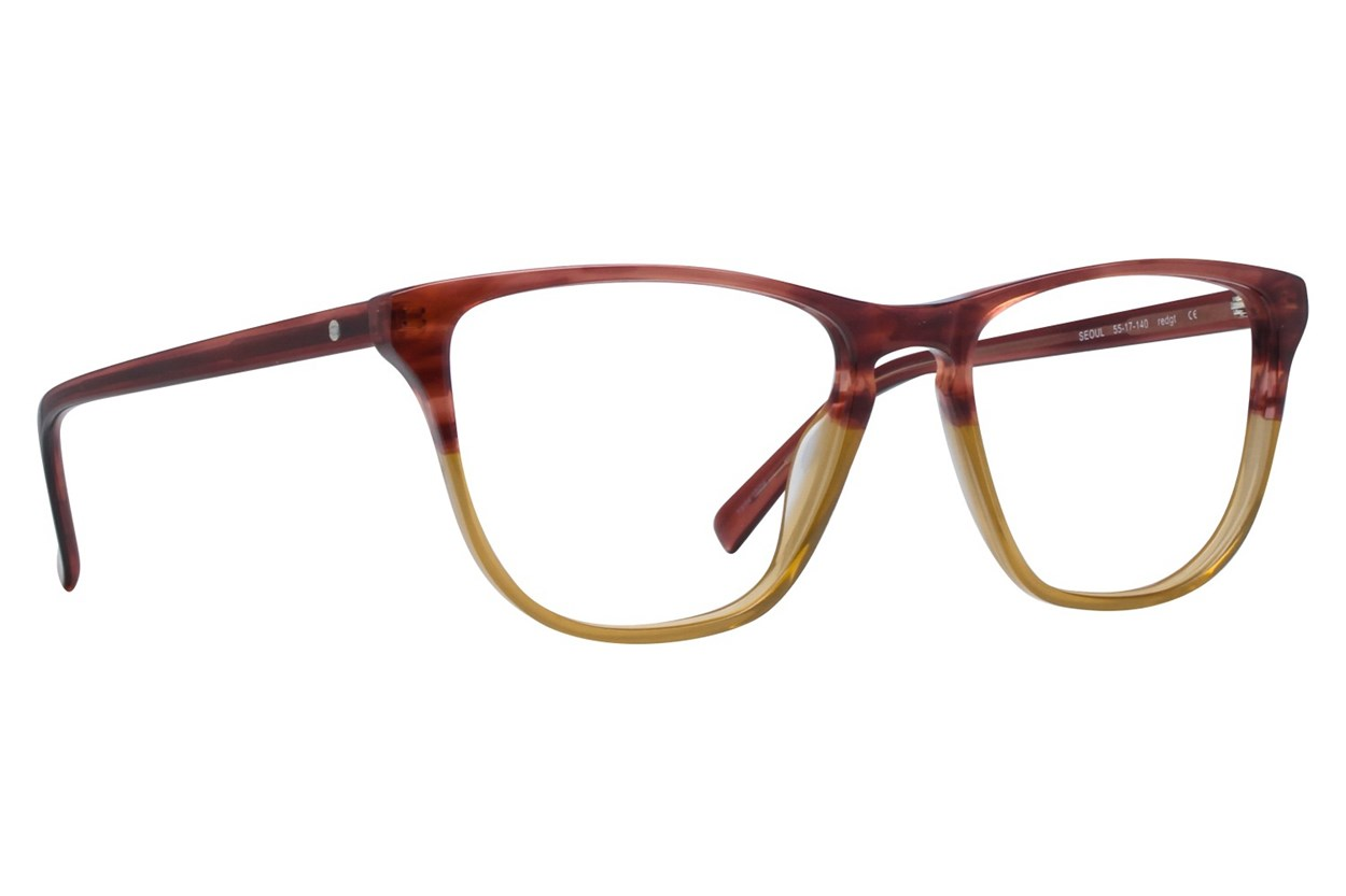 Eco Seoul Eyeglasses - Red