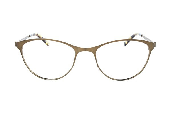 Eco Bristol Eyeglasses - Gold