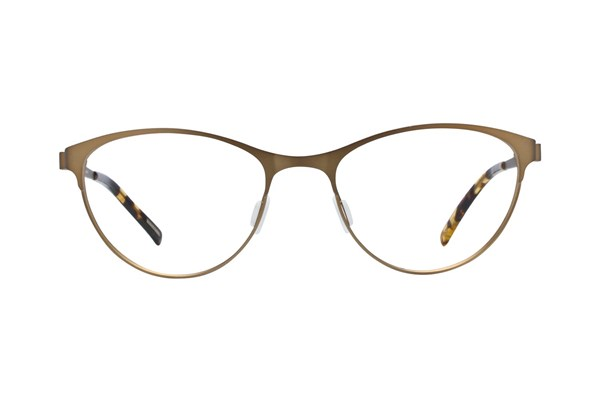 Eco Bristol Gold Eyeglasses