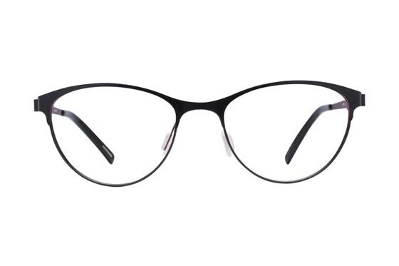 Eco Bristol Black Eyeglasses