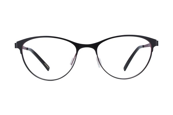 Eco Bristol Black Eyeglasses