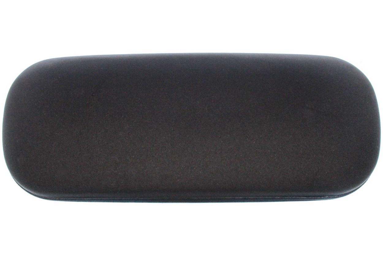 Amcon Protective Clam Eyeglasses Case Black Black GlassesCases