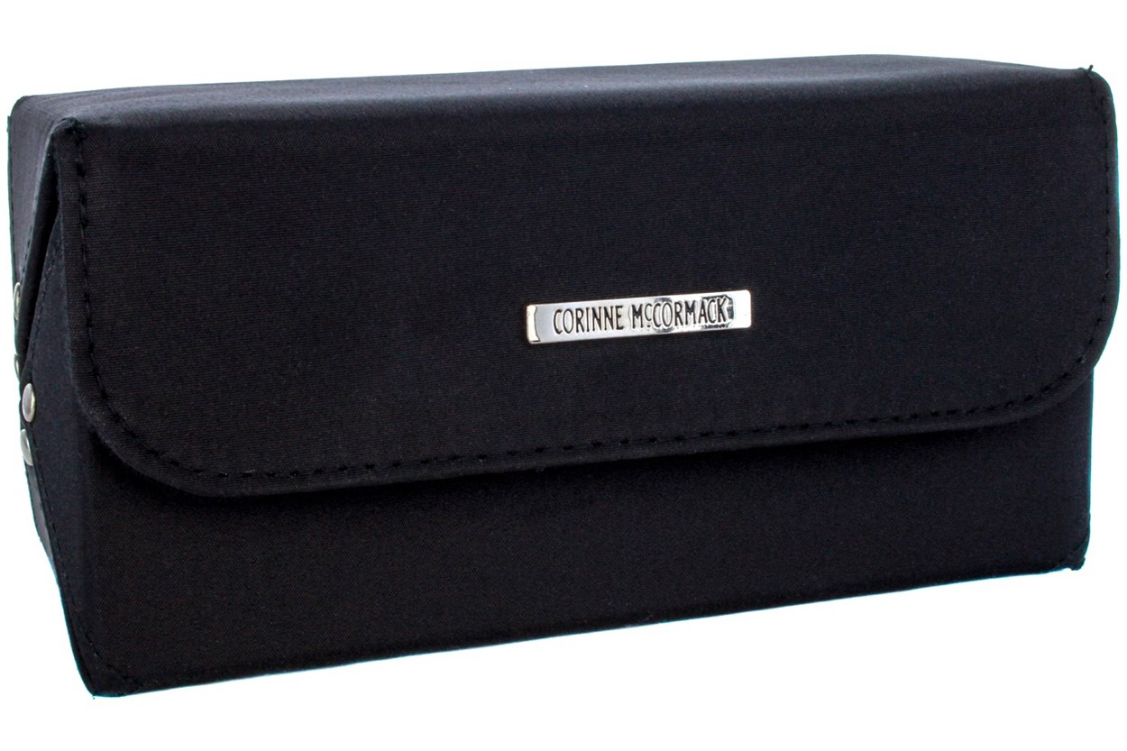 Corinne McCormack Eyewear Valet Case Black GlassesCases