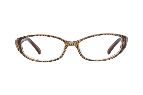 Jill Stuart JS 298 Brown Eyeglasses