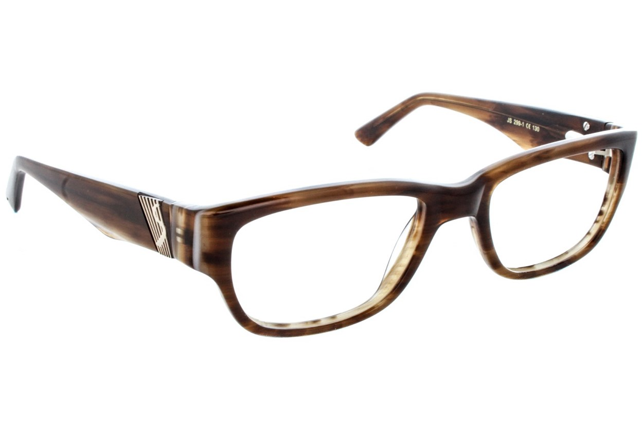 Jill Stuart JS 299 Brown Eyeglasses